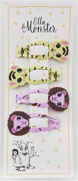 Ella & Monster Lion Set Haarspangen