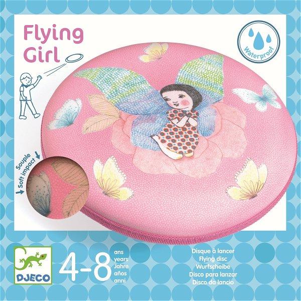 Djeco Wurfscheibe Flying Girl