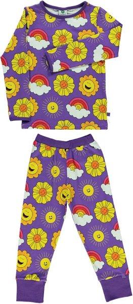 Smafolk Nightwear with Sun Purple Heart