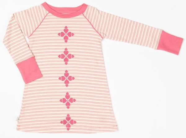 Albababy Merry My Dress Branded Apricot Striped