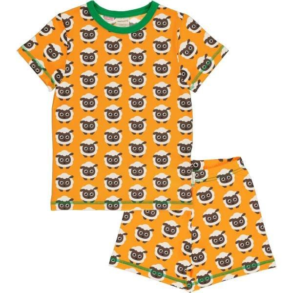 Maxomorra Pyjama Set SS Classic Sheep