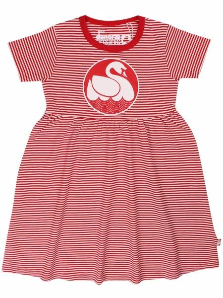 Danefae Organic Shellfish Dress Red Chalk Swan