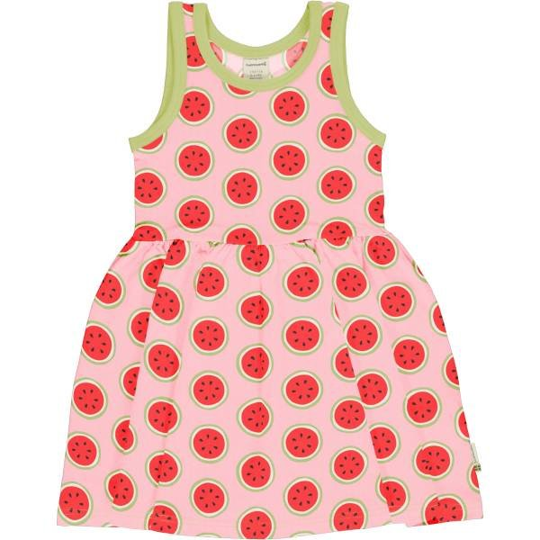 Maxomorra Dress Spin NS Watermelon