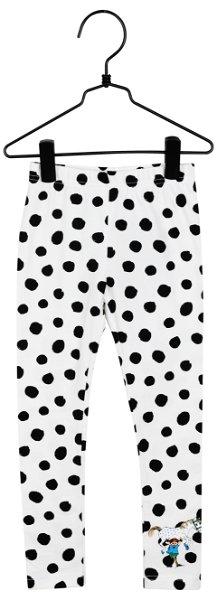 Martinex Speckled Leggings Black White
