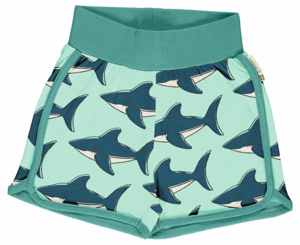 Maxomorra Runner Shorts Shark