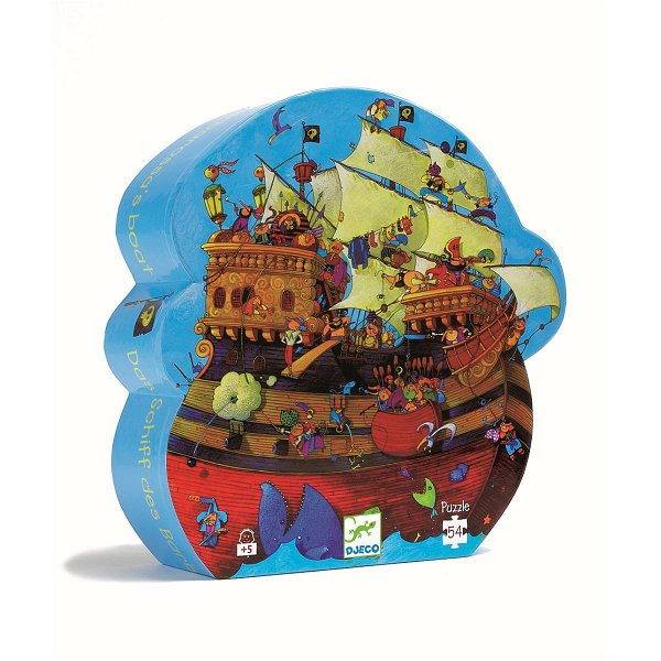 Djeco Puzzle Barbarossa`s Boat 54 Teile