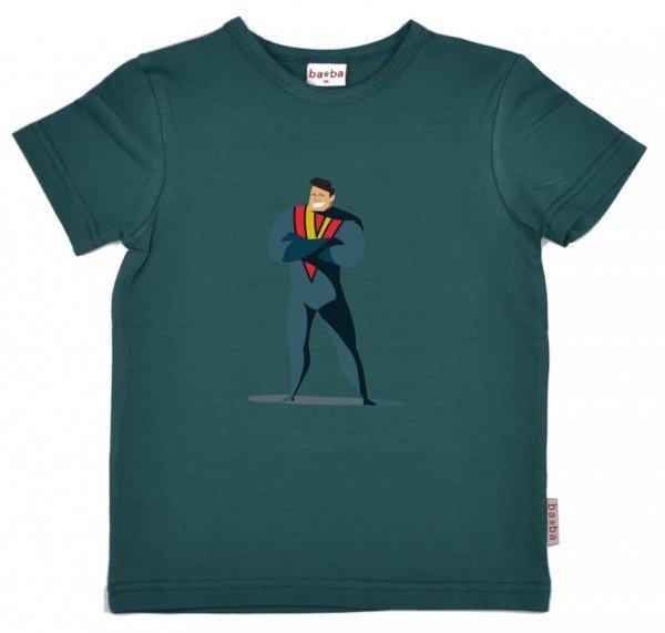 Baba Babywear T-Shirt Hero Dark Green