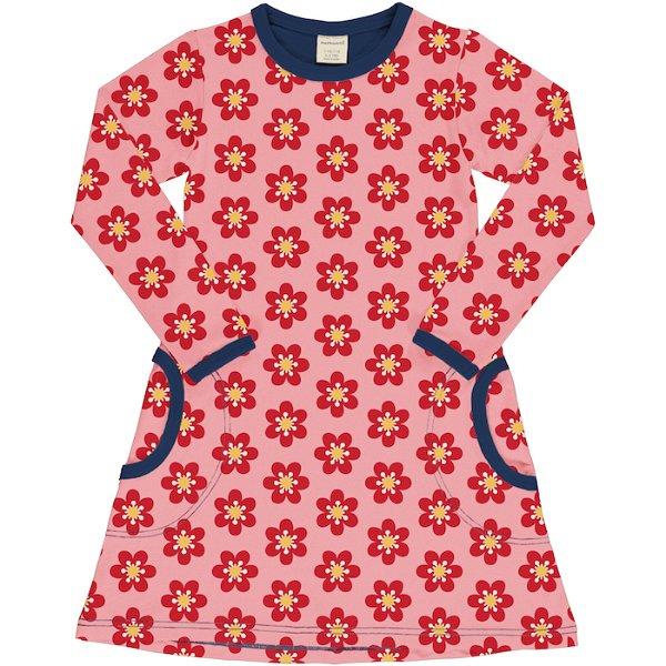 Maxomorra Dress LS Anemone