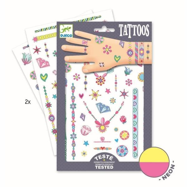 Djeco Tattoos Jenny`s Jewels
