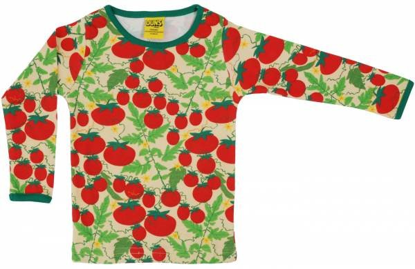 DUNS Longsleeve Top Growing Tomatoes Pale Yellow