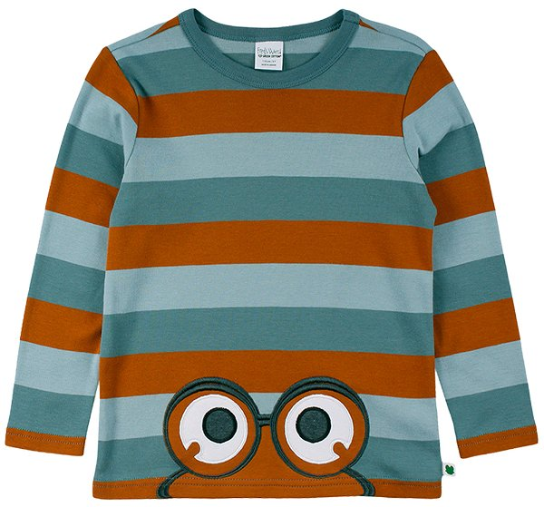 Fred`s World by Green Cotton Stripe Peep T-Shirt Global