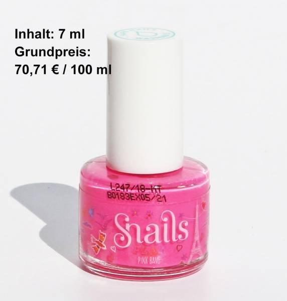 Snails Nagellack Pink Bang Schillerd Leuchtendes Pink