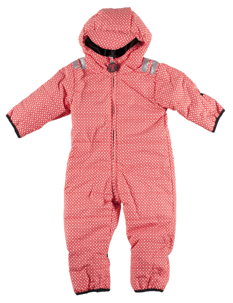 Ducksday Schneeanzug Snowsuit Baby Funky Red