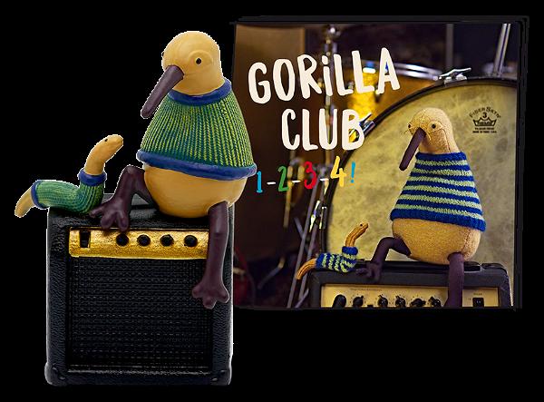 Tonies Gorilla Club 1-2-3-4!