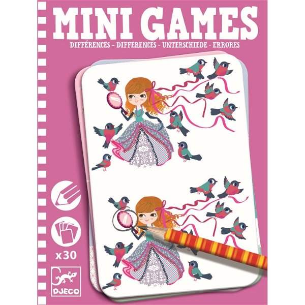 Djeco Mini Games Leas Unterschiede