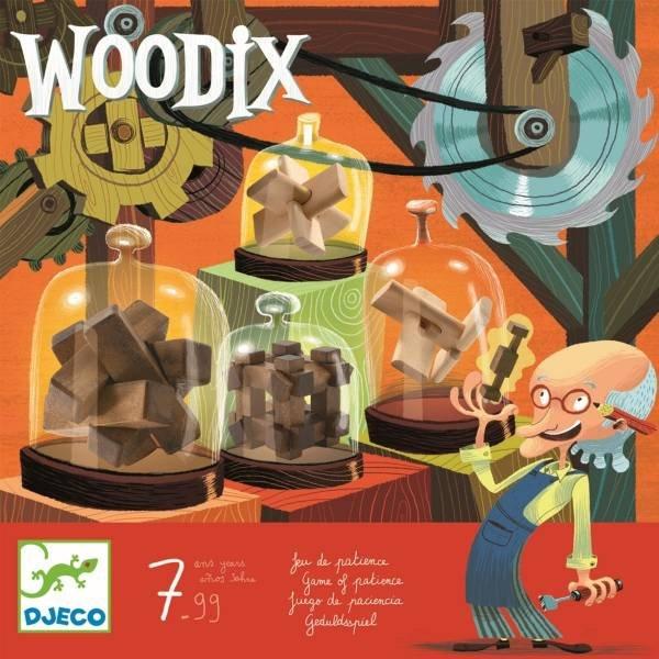 Djeco Knobelspiel Woodix