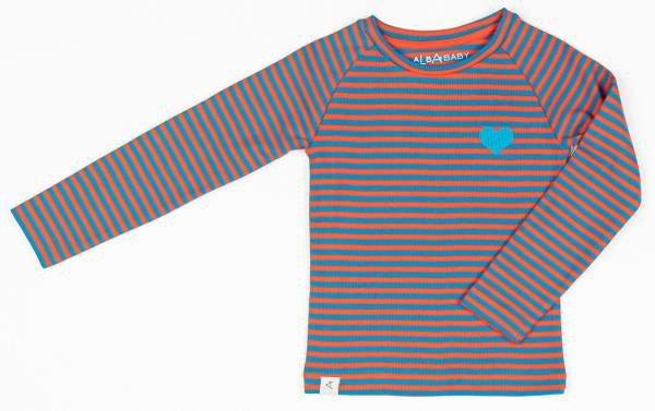 Albababy All You Need Tee Orange.com Magic Stripes