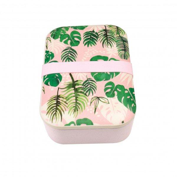REX Lunchbox Bambusfaser Tropical Palm