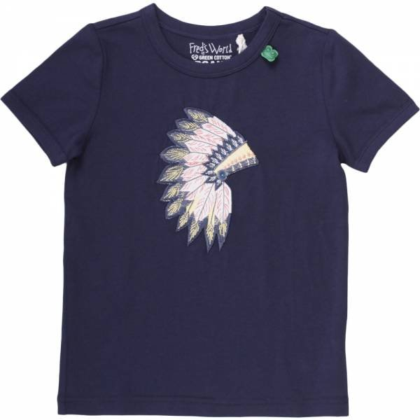 Fred`s World Tepee T-Shirt Navy