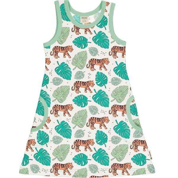 Meyadey by Maxomorra Dress NS Tiger Jungle