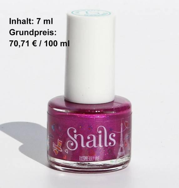 Snails Nagellack Raspberry Pie Lila Glitzernd