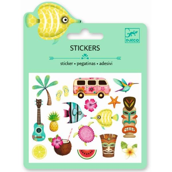 Djeco Mini Sticker Hawaii