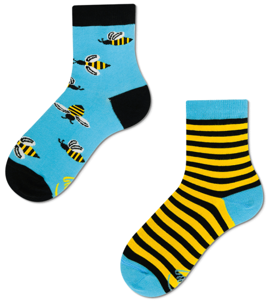 Many Mornings Bee Socks