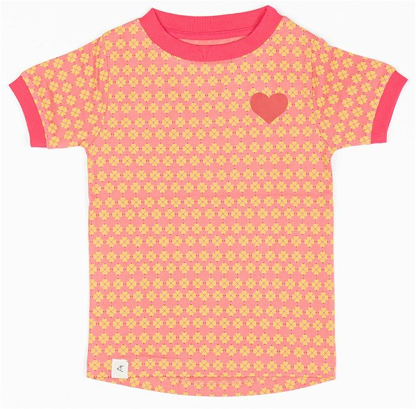 Albababy Bella T-Shirt Tea Rose Flower Hearts