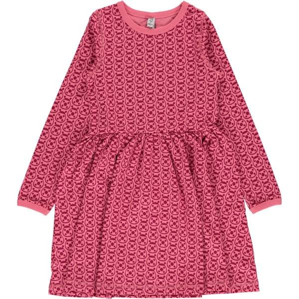 Maxomorra Dress Spin LS Ladybug