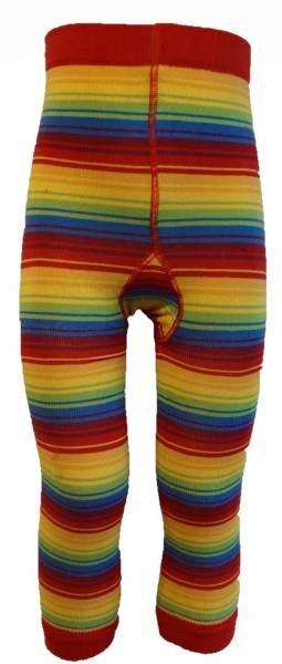 Slugs & Snails Leggings Rainbow Stripe