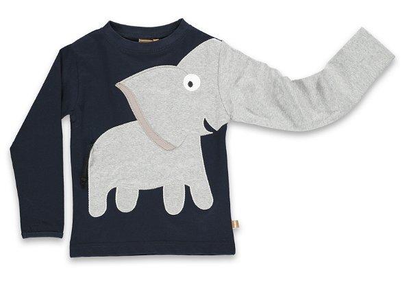 UBANG Elephant Tee Dark Blue