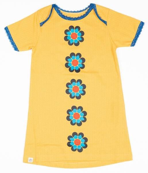 Albababy Emmie Flower Dress Bright Gold