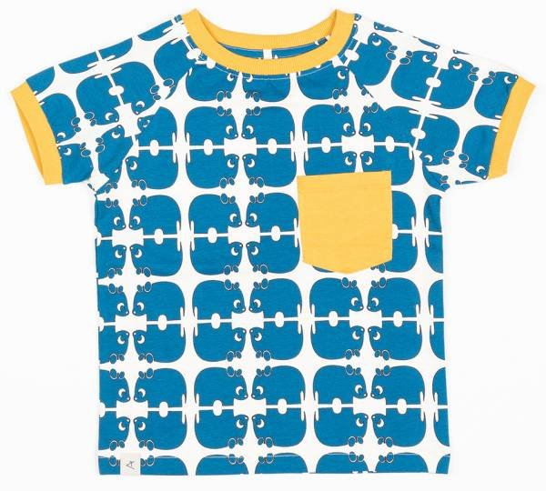 Albababy Simon T-Shirt Snorkel Blue Wanna Be An Animal
