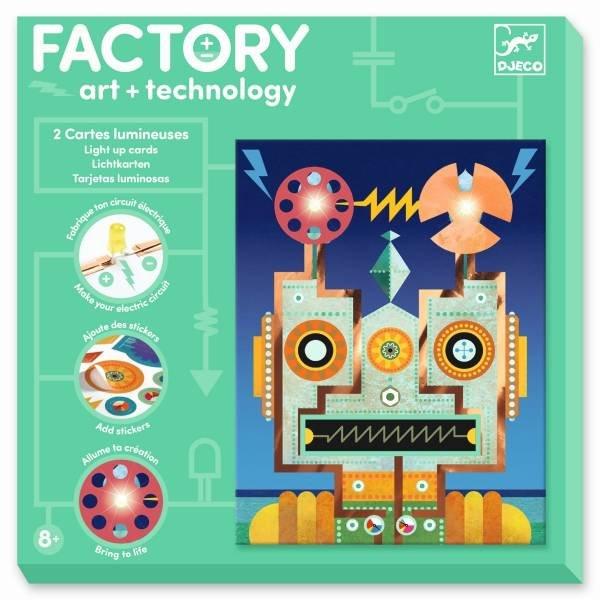 Djeco Factory - Bilder zum Beleuchten - Cyborgs