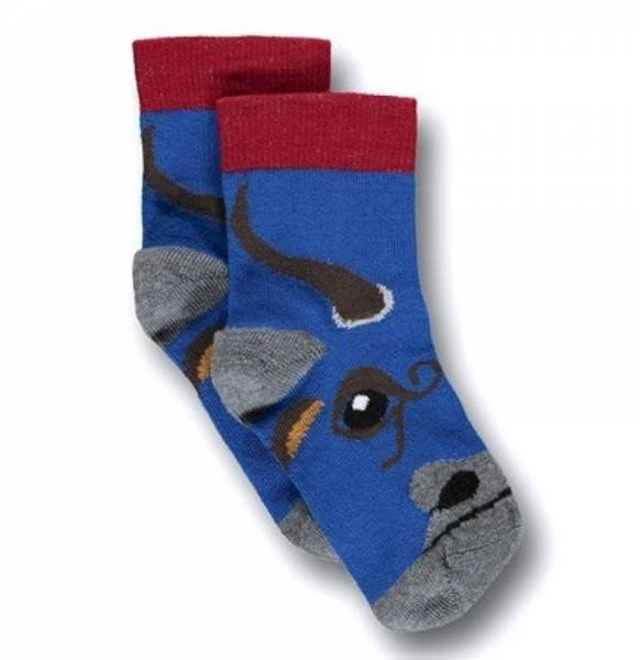 UBANG Socken Bull Talkie Walkie Blue