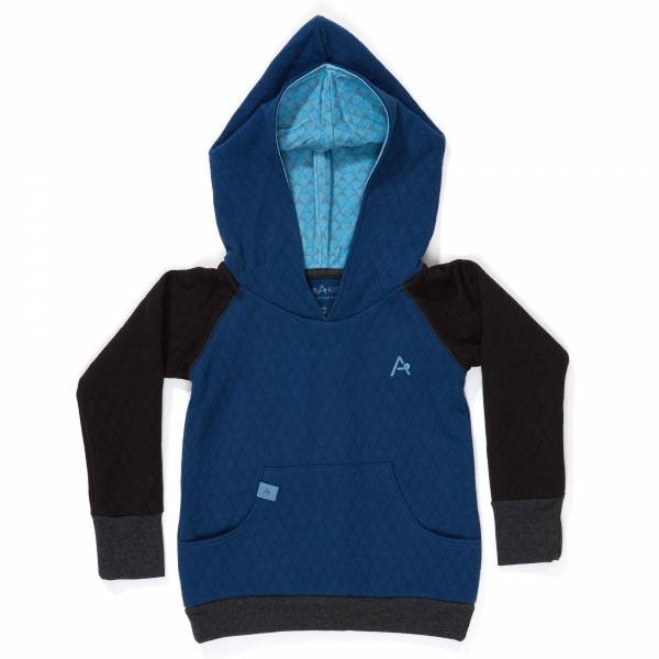 Albababy Hjalte Hood Estate Blue