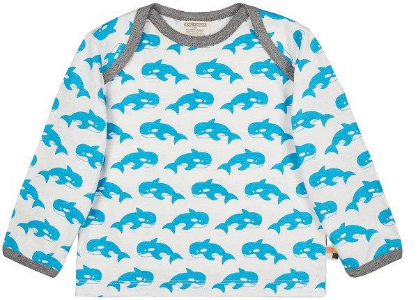 Loud + Proud Shirt LS Orka Aqua
