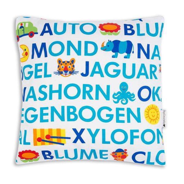 byGraziela Kissenbezug ABC 40 x 40 cm