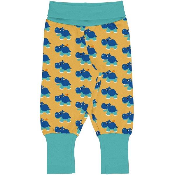 Maxomorra Pants Rib Hippo