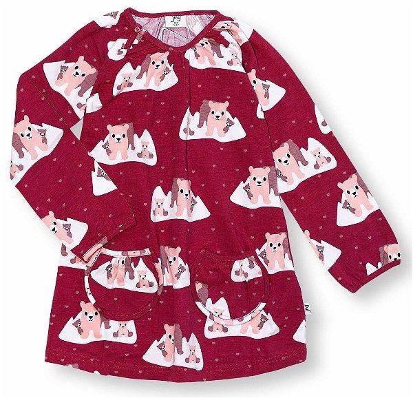 JNY colourful kids Tunic LS Polar Bears