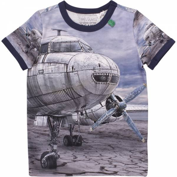 Fred`s World Airplane Photo T-Shirt