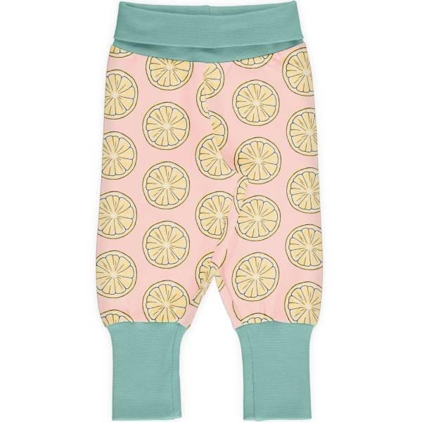 Maxomorra Pants Rib Fresh Lemon