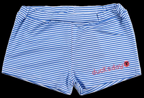 Ducksday UV Badehose Blue Stripe Girl