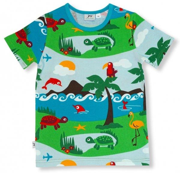 JNY colourful Kids T-Shirt Dolphin Island