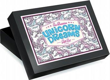 Six Bunnies Baby Geschenkset Unicorn Dreams