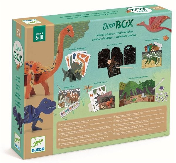 Djeco Multi-Activity Kit Welt der Dinosaurier