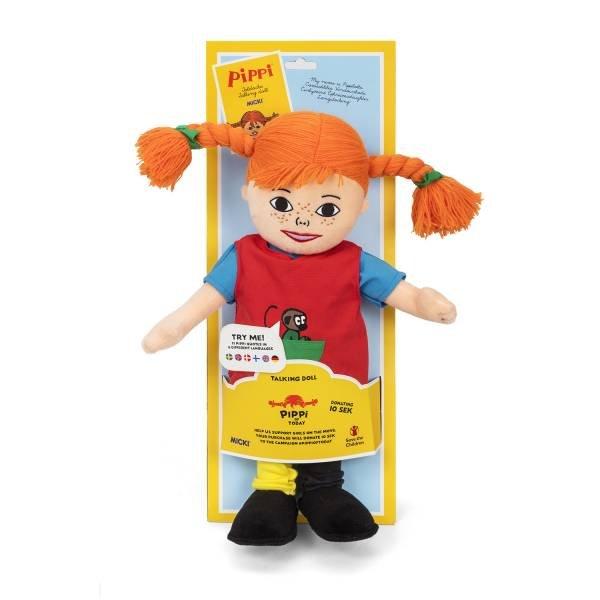 MICKI Sprechpuppe Pippi 40 cm