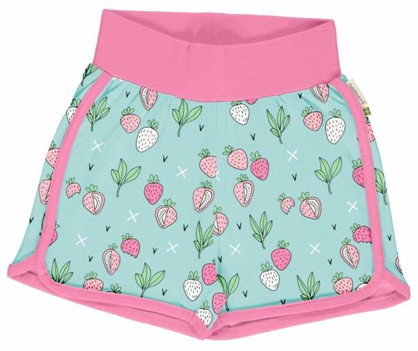 Meyadey by Maxomorra Runner Shorts Strawberry Fields