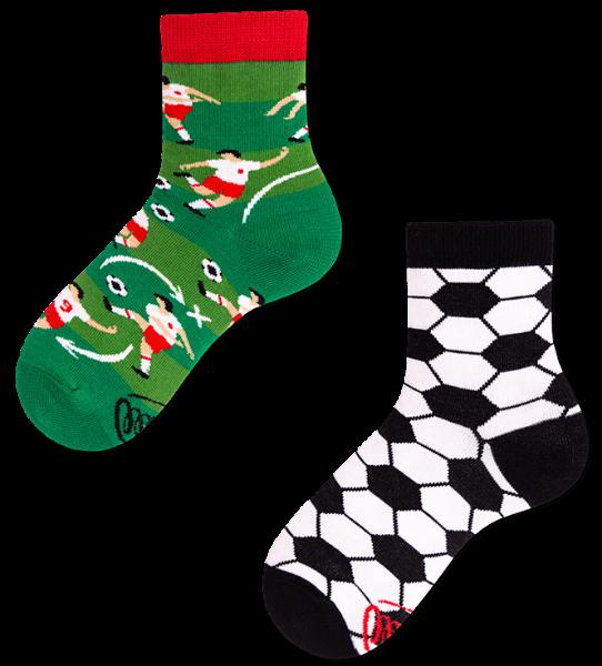 Many Mornings Football Socks