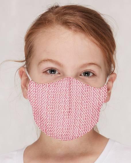 Loud + Proud Kinder Maske Rombe Azalea